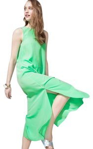 Seafoam Green Maxi Dress by J.Crew Straight Silhouette Flowy