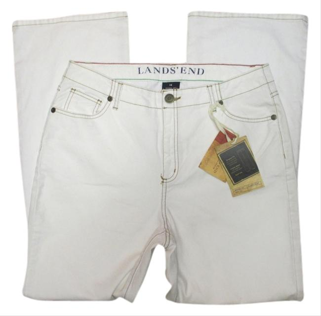 Preload https://img-static.tradesy.com/item/8787271/lands-end-white-light-wash-fit-classic-waistboot-leg-boot-cut-jeans-size-35-14-l-0-1-650-650.jpg