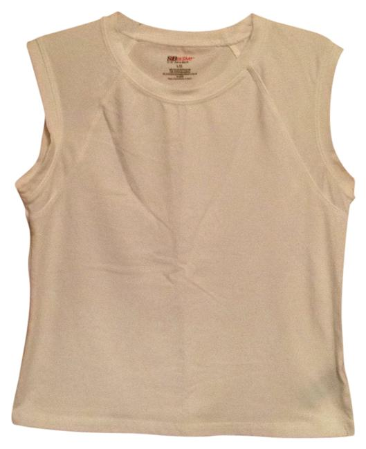 Item - White Activewear Top Size 12 (L, 32, 33)