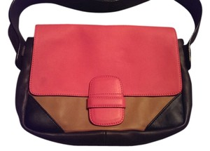 Marc Jacobs Tri Color Leather Shoulder Bag