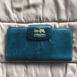 Coach Leather Credit Card Slots