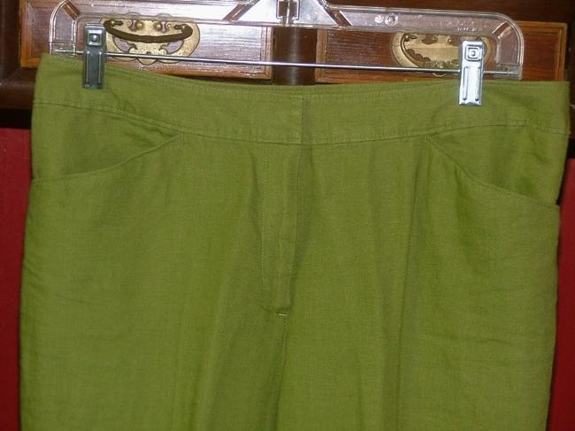 J. Jill Trouser Pants Cactus Green