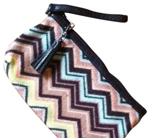 Missoni for Target Multicolored Zig Zags Clutch
