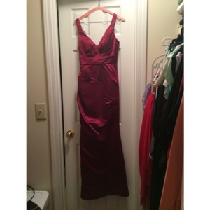 Bill Levkoff Wine Dress