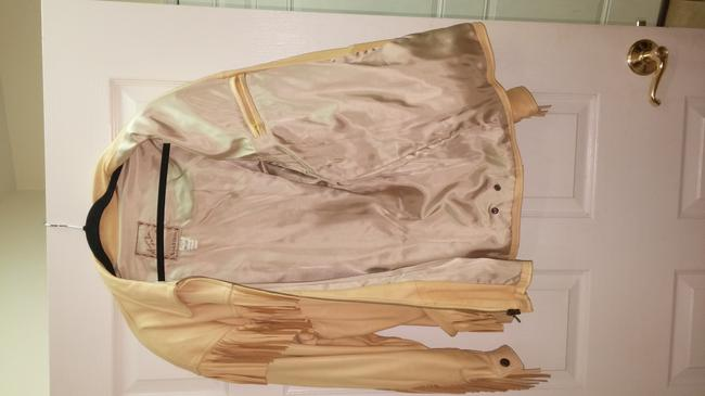 The Santa fe Collection Light yellow/ Leather Jacket Image 6
