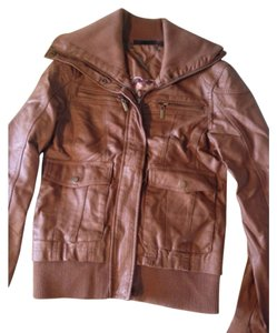 Royal Chicks Brown Leather Jacket