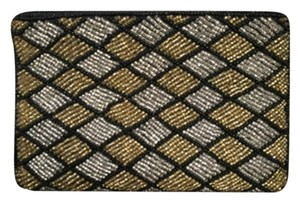 Neiman Marcus Black Gold Clutch