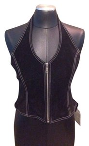 Wilsons Leather Blac Halter Top