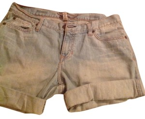 Abrocombrie and Fitch Cuffed Shorts Blue