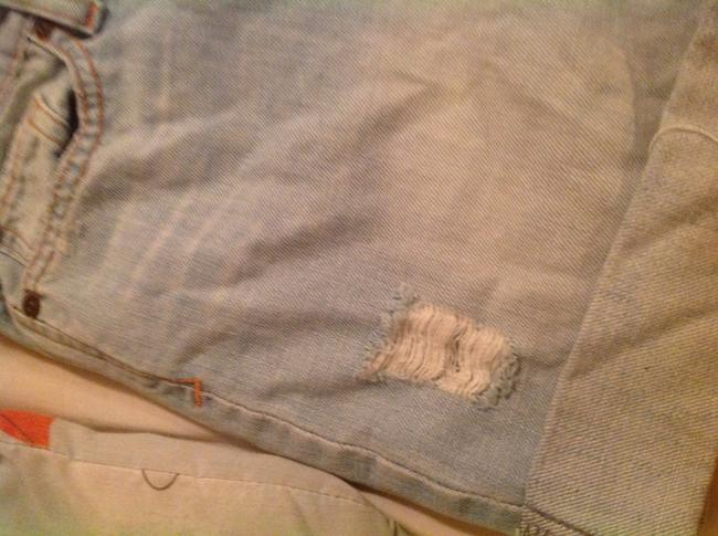 Abrocombrie and Fitch Cuffed Shorts Blue Image 1
