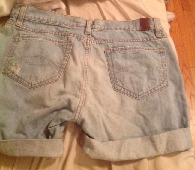 Abrocombrie and Fitch Cuffed Shorts Blue Image 4