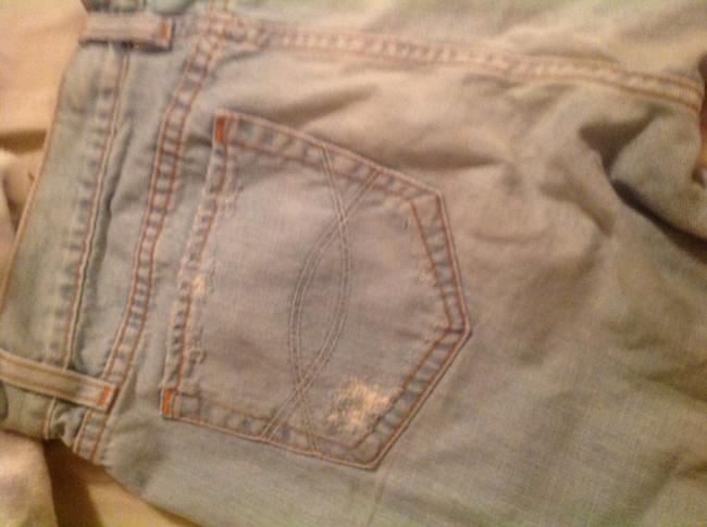 Abrocombrie and Fitch Cuffed Shorts Blue Image 5