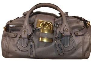 Chloé Satchel in Taupe Grey