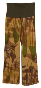 Victoria Keen Flare Pants Tan, Olive, Brown
