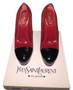Saint Laurent Red/black Pumps