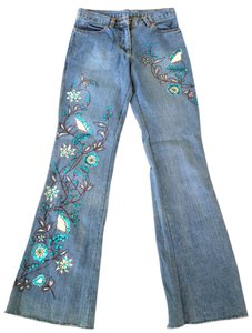 United Colors of Benetton Flare Leg Jeans
