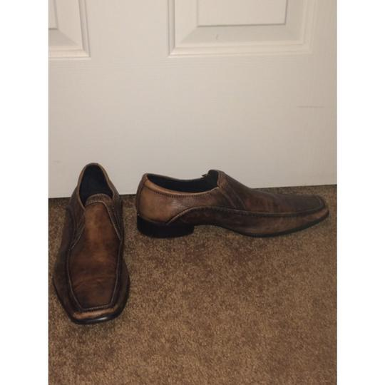 Kenneth Cole Reaction Brown Flats Image 1