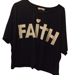 Forever 21 T Shirt Blac