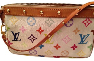 Louis Vuitton Pouchette Multicolor Clutch