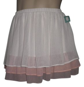 Maurices Skirt Ivory/Rose/Taupe