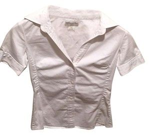 Banana Republic Button Down Shirt White