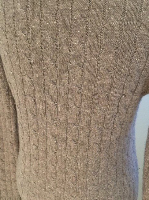 Lord & Taylor Cashmere V-neck Size Small Cashmere Tops Sweater Image 4