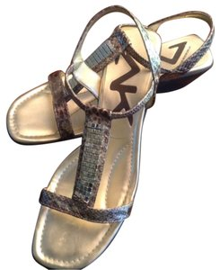 Anne Klein Gold Sandals