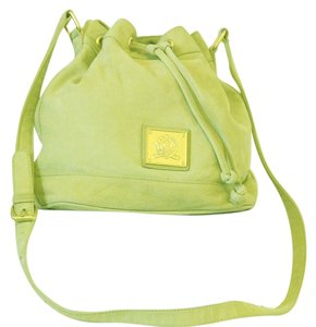 Medallion By Wathne Suede Cross Body Bag