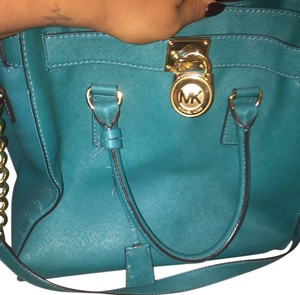Michael Kors Tote in Teal green