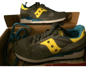 Saucony Grey/yellow/white Athletic
