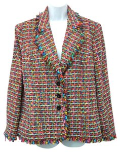 Escada Tweed Jacket MULTICOLOR Blazer