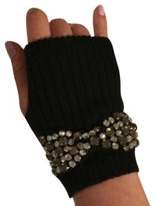 Juicy Couture Mittens With Rhinestones
