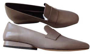 Derek Lam Leather Gray Flats