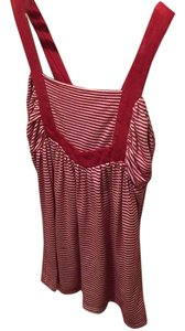 Charlotte Russe Top Red and white