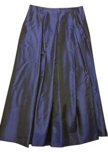 Jessica McClintock Maxi Skirt Dark blue