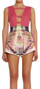 Aq/Aq Adele printed Shorts Multicolor Size Uk 8/ US 4 SOLD OUT Dress Shorts Muticolor