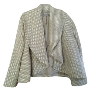 Agnona Soft Warm Beige tweed Blazer