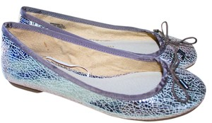 Gap Ballet New Spring Summer Metallic Gunmetal Iridescent Flats