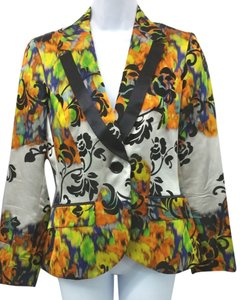 Etro Multicolored Silk Blazer