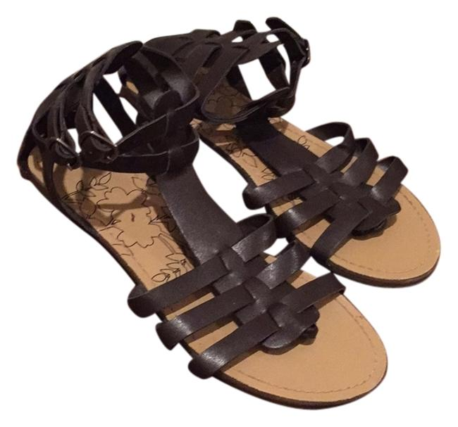 Item - Brown and Tan Sandals Size US 8 Narrow (Aa, N)