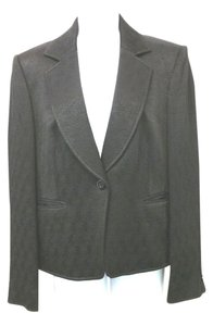 Ellen Tracy Textured Jacket BLACK Blazer