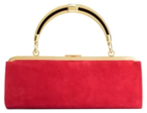 Balmain x H&M Red Clutch