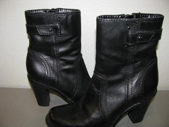 Fitzwell Black Boots Image 2