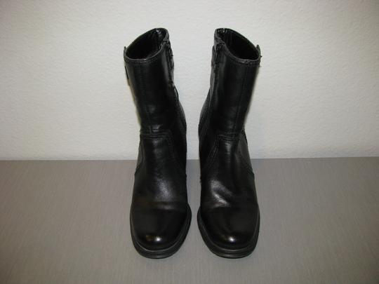 Fitzwell Black Boots Image 3