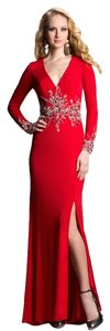 Feriani Couture Longsleeve Gown Size10 Dress