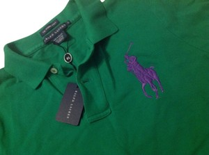 Polo Ralph Lauren Skinny New Green T Shirt