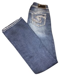 Silver Jeans Co. Sliver Jean Co Straight Leg Jeans