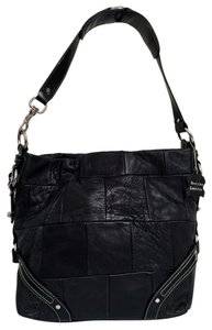 All Leather Calfskin Shoulder Bag