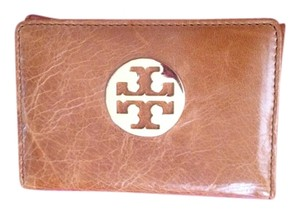 Tory Burch Tory Burch Brown Leather Coin Purse