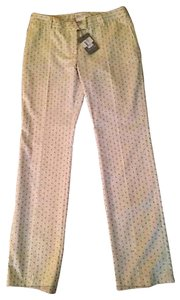 Paul & Joe Paris Trouser Pants Ecru cream w small pattern